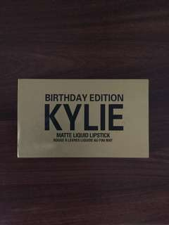 Kylie birthday collection minis