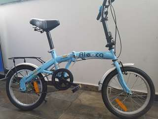 Aleoca folding bike