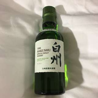 白州 威士忌 SINGLE MALT WHISKY 180ml