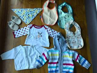 For All Baby Clothes and 2 blankets /3-6m /used twice/ almost new!