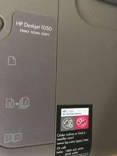 HP Deskjet 1050 Print scan copy