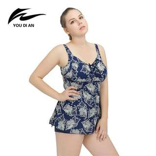 2018 Summer Women Beach Dress New Bandage Bathing Suit Plus Size Swimwear Large Size wimsuits Size 2XL-6XL