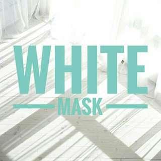 WHITE MASK (masker wajah homemade)