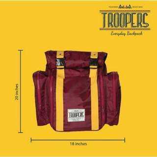 Trooper Big Tank Crimson Backpack