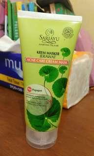 Krem masker jerawat Sariayu Martha Tilaar