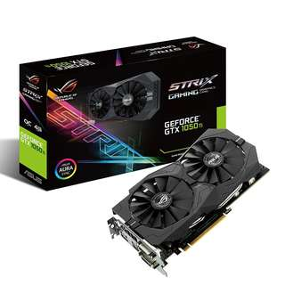 ASUS ROG Strix GeForce® GTX 1050 Ti OC edition 4GB GDDR5