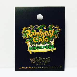 Singapore Rainforest Cafe Pin