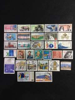 A. 30 Different Used Stamps (Lot A)