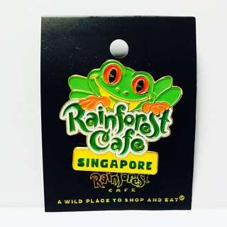 Singapore Rain Forest Pin