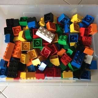 Preloved 180pcs Lego Duplo