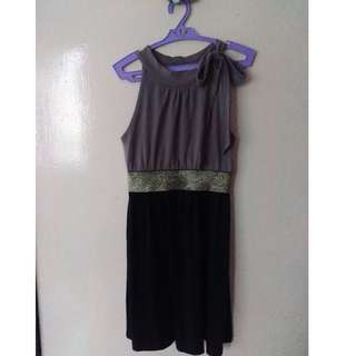 Authentic RedHead Black Glitter Dress