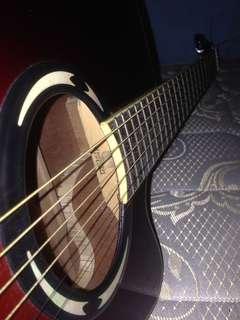 Gitar yamaha apx 500ii akustik elextrik
