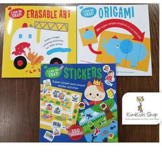 Gakken New Relase- I Can Do THAT !Pre-school workbook set