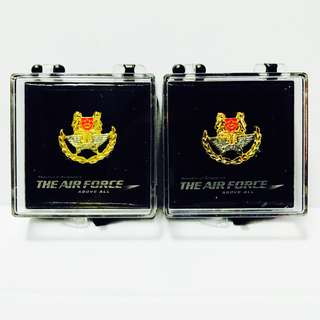 Singapore Air Force Pins