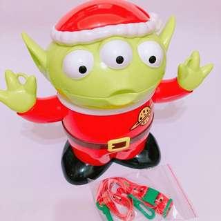 聖誕帽三眼怪 爆米花桶