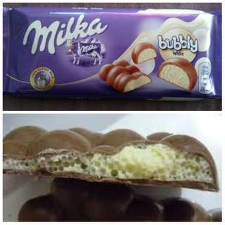 MILKA BUBBLE WHITE 100g