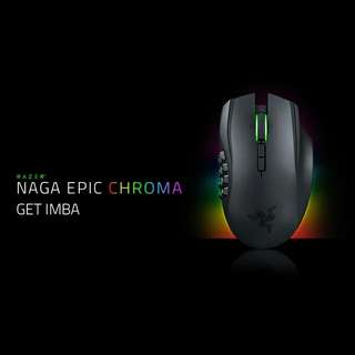 🚚 Razer Baga Epic Chrome 電競滑鼠