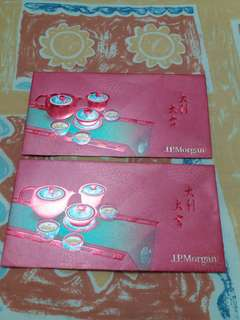 red packet - J P Morgan 2 pieces
