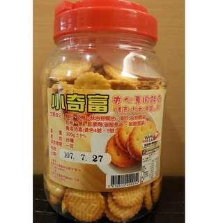 小奇福餅乾 300g 期限:107/07/27