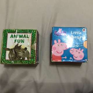 Mini Story Books - Animal And Peppa Pig