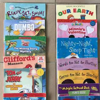 Various kids books