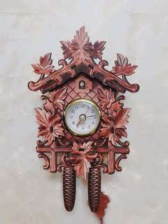 Luxury Cuckoo Swinging Clock