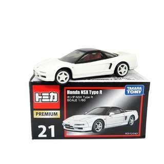 Tomica Premium #21 Honda NSX Type R (Box)