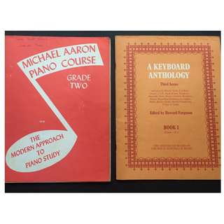 2 Piano Books