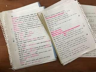 IGCSE/O-LEVEL physics and biology notes