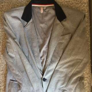 Penshoppe School Boy Blazer in Gray