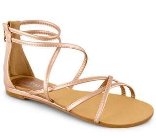 Verali Rose Gold Sandals