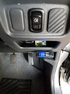 Pivot gauge Volt 1650nf