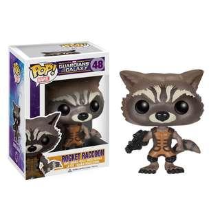 MARVEL's Rocket Raccoon Funko Pop