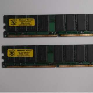 Old Ram for sale 1gb x2