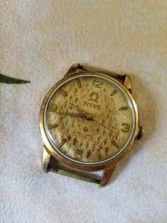 Solvil Et Titus 21-Jewels Gold-plated Watch