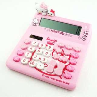Hello kitty calculators
