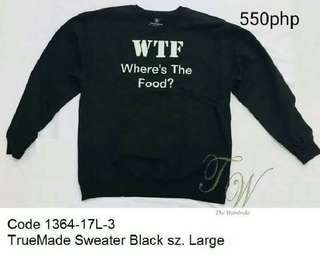 Truemade sweater black