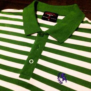 Authentic Bench Stripes Polo Shirt