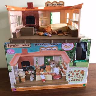 Pre-loved Sylvanian Families Brick Oven Bakery
