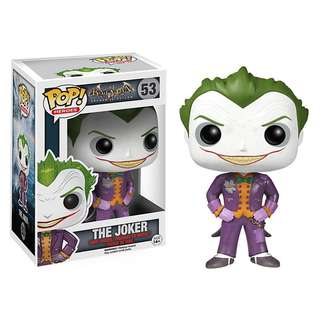 Joker Funko Pop from Batman: Arkham Asylum