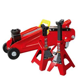 2 Ton Mini Floor Jack with 2pcs Jack stand
