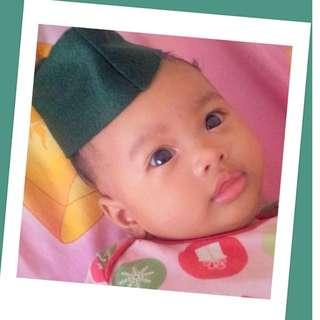 baby songkok/kopiah pelbagai warna