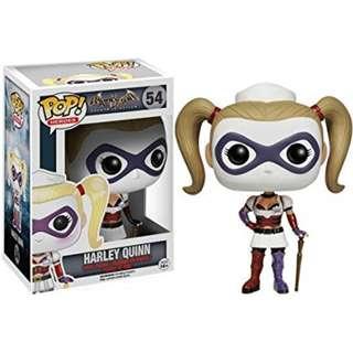 Harley Quinn Funko Pop from Batman: Arkham Asylum