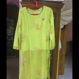 Baju Mini Kurung Tailored Made