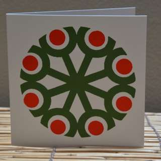 greeting Card geometric design