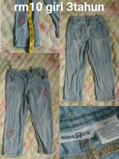3 years kids jeans