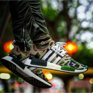 Adidas NMD XR1 army bape for man premium original 100%