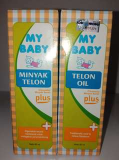 My baby Minyak Telon 60ml