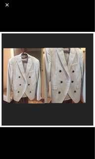 Mundo Kpop Powder blue suit blazer