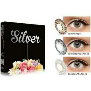ice silver x2 softlens